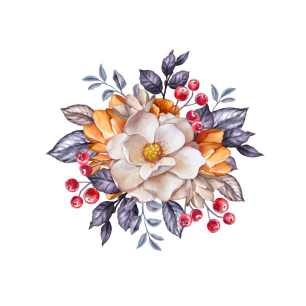 Best Magnolia Wreath Illustrations, Royalty-Free Vector ...