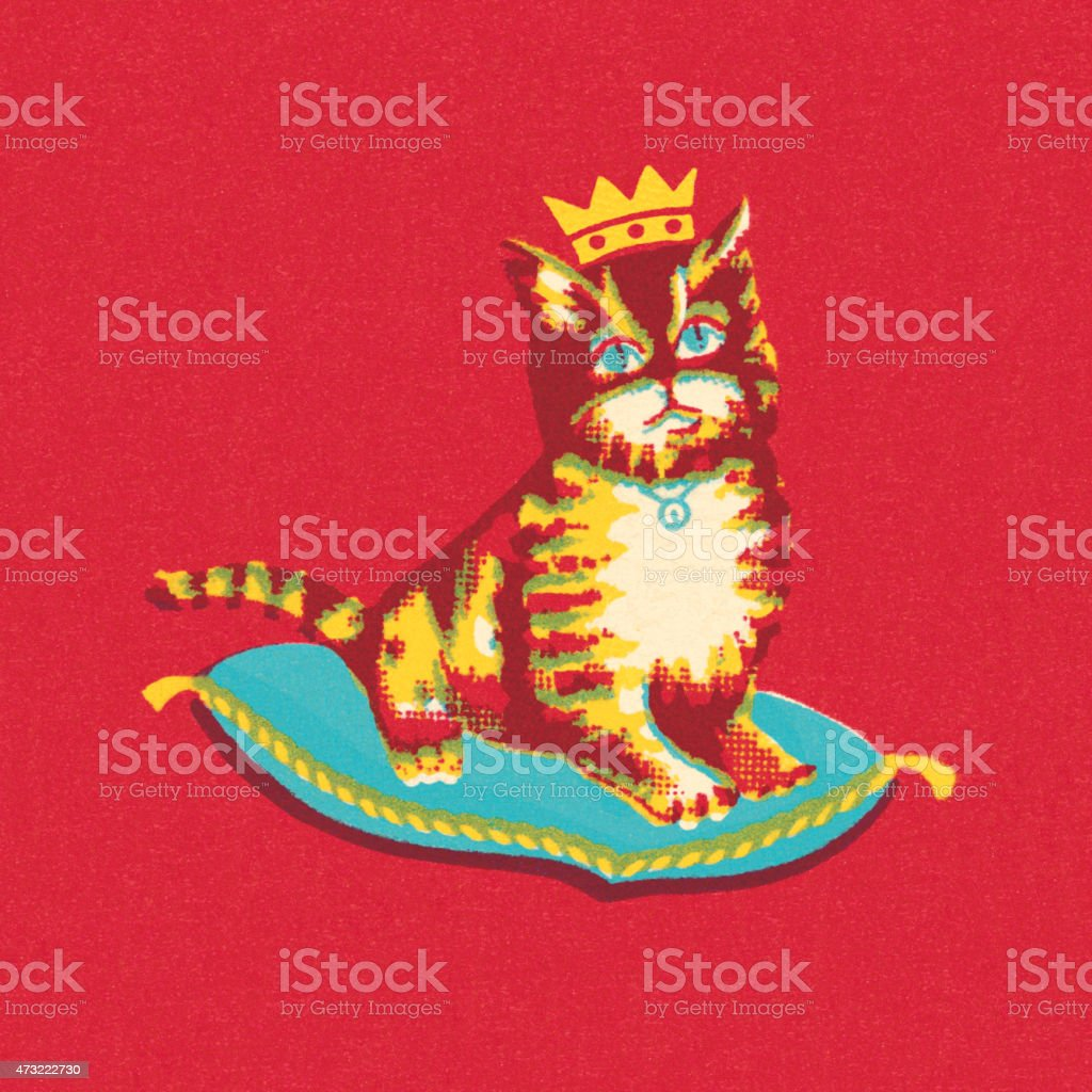 Image result for royal cat clipart