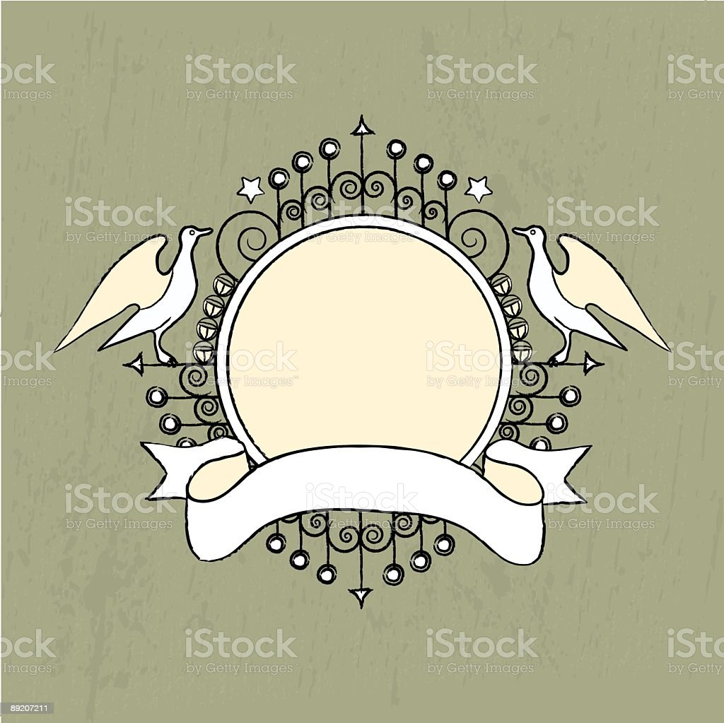 Royal Crest royalty-free stock vector art