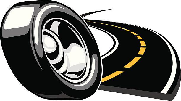 rubber meets the road - 橡膠 幅插畫檔、美工圖案、卡通及圖標