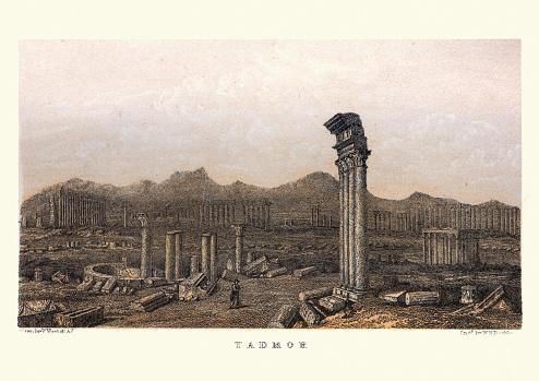 Ruins of Palmyra (Tadmor) Syria 19th Century