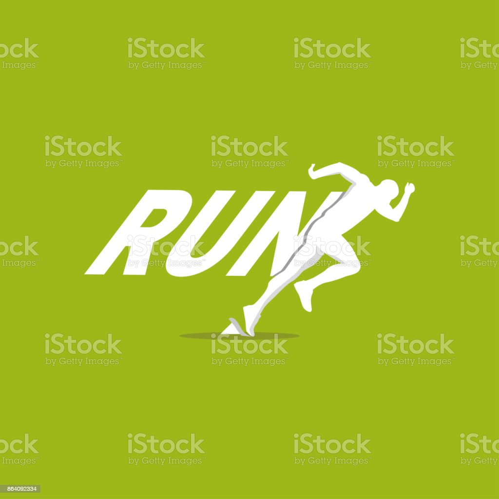run logo royalty-free run logo stock vector art & more images of activity