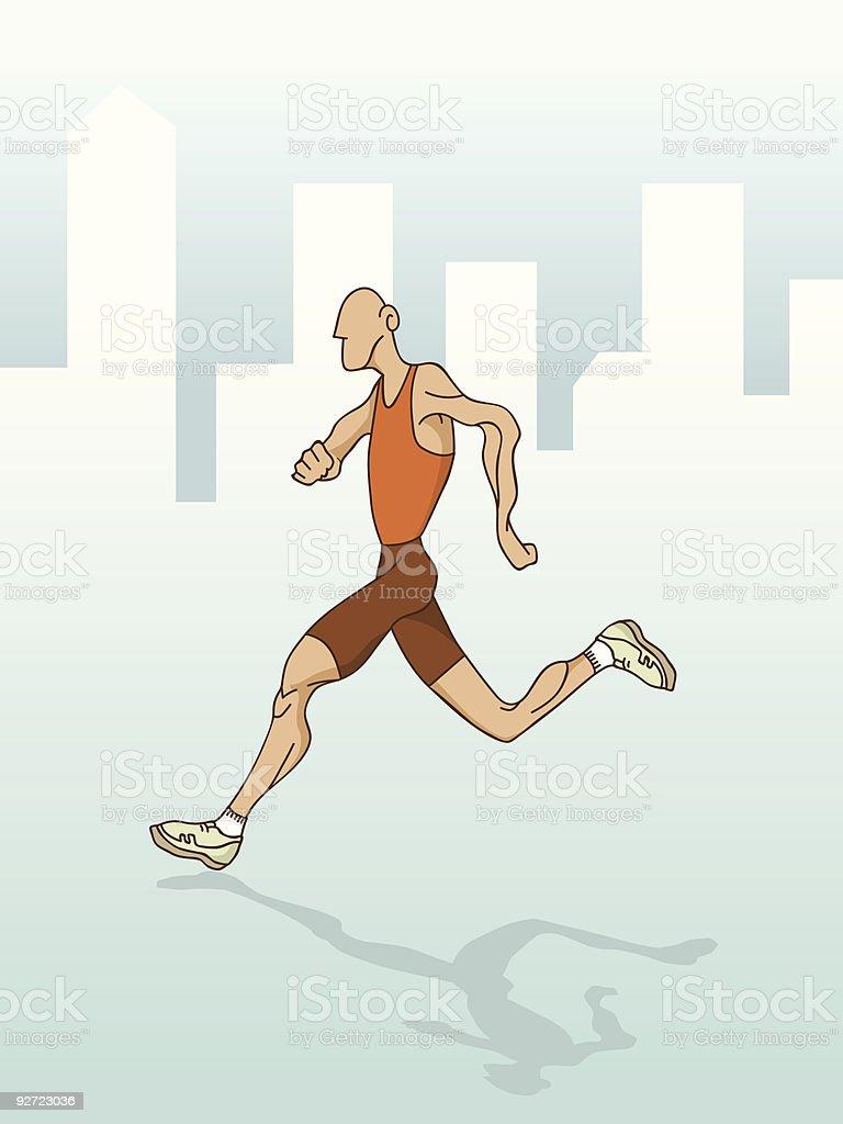 Runner – Vektorgrafik