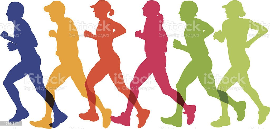 Runners royalty-free runners stock vector art & more images of adolescence