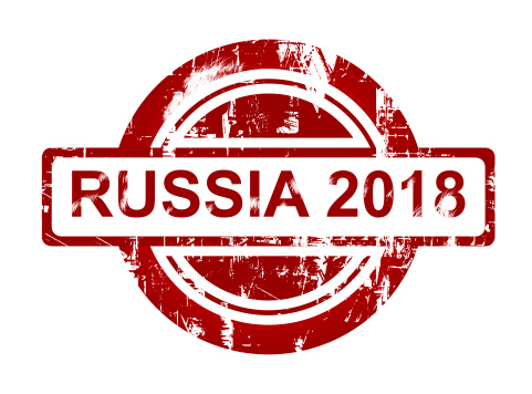 Russia 2018 stamp