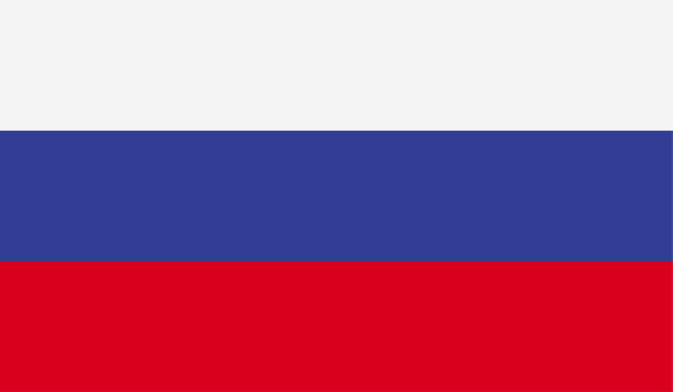 russia flag - russian flag stock illustrations, clip art, cartoons, & icons