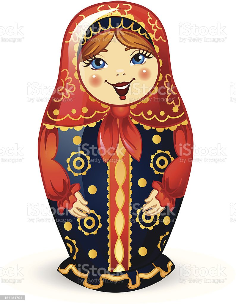 Russian Doll Matrioshka royalty-free russian doll matrioshka stock vector art & more images of adult