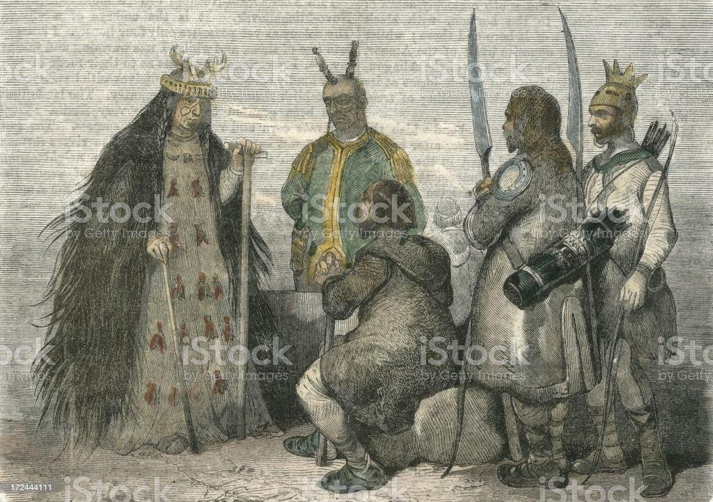 ロシア Sorceress 19 世紀の 186...