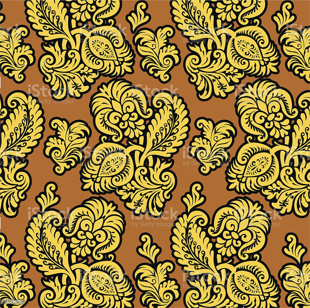 Russian yellow pattern royalty-free russian yellow pattern stock vector art & more images of abstract
