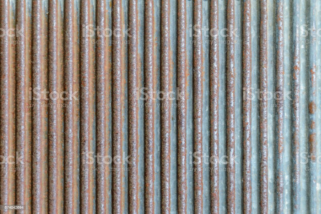 Rusted galvanized iron plate vector art illustration
