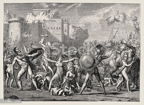 Illustration of a Sabines by David