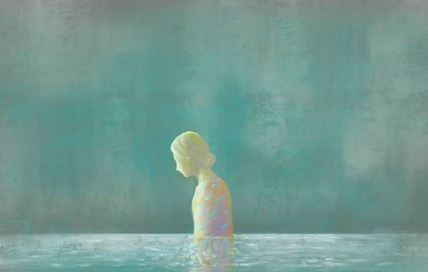 illustrations, cliparts, dessins animés et icônes de femmes tristes - solitude