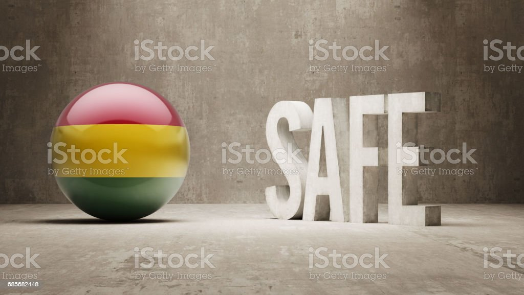 Safe Concept 免版稅 safe concept 向量插圖及更多 bolivian flag 圖片
