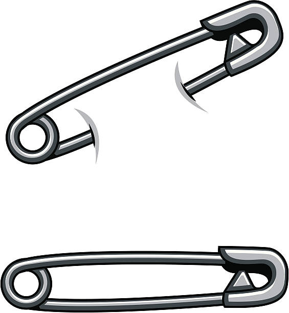 Safety Pin With Clip 1 4 : In the shop mind