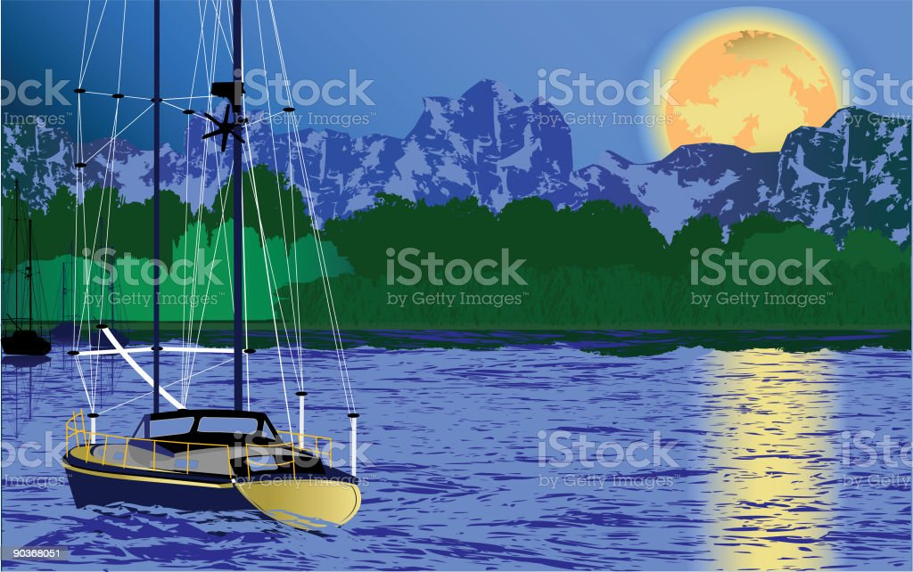 Sail Your Adventure! royalty-free stock vector art