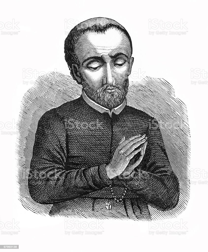 Saint Isaac Jogues royalty-free saint isaac jogues stock vector art & more images of 17th century style
