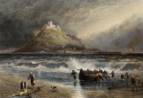 Saint Michael's mount Cornwall (XXXL)