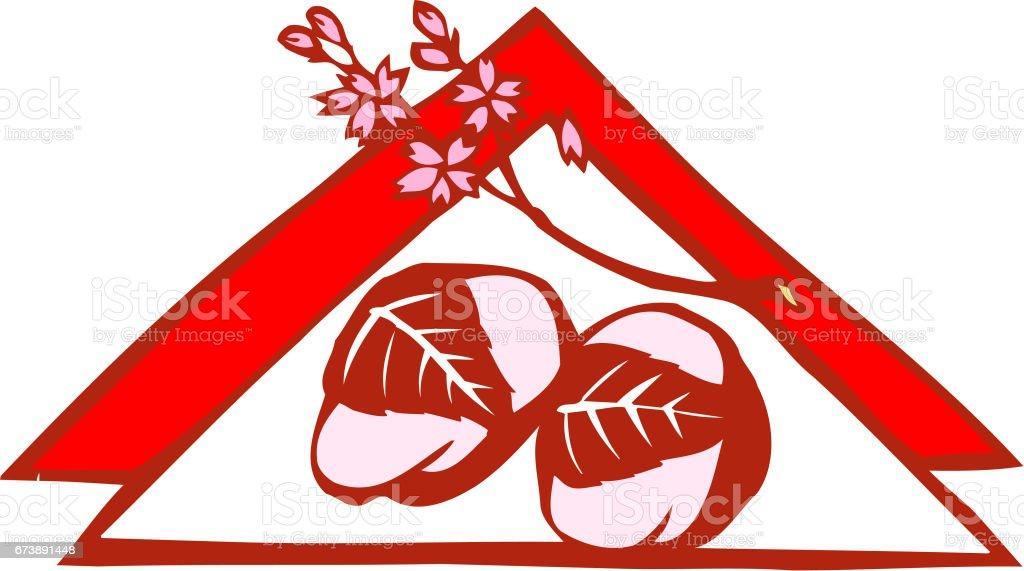 Sakuramochi sakuramochi – cliparts vectoriels et plus d'images de cerisier libre de droits