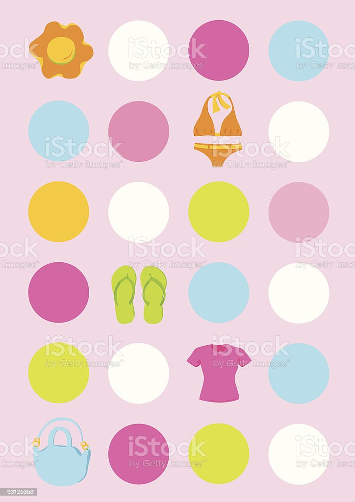 Sale Apparel vector art illustration