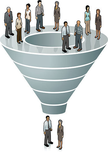 Sales Funnel Image Stock Illustration - Download Image Now