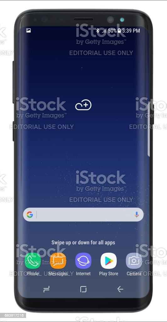 Samsung Galaxy S8 Stock Illustration - Download Image Now