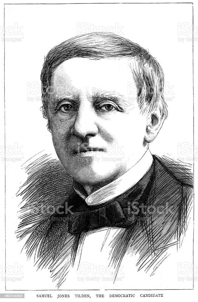 Samuel Jones Tilden royalty-free samuel jones tilden stock vector art & more images of 1870-1879