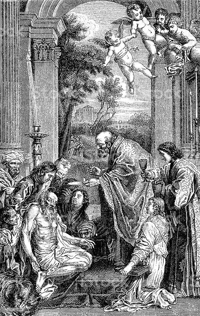 San Girolamo by Domenichino royalty-free san girolamo by domenichino stock vector art & more images of 19th century style