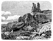 istock Sand deposit of the Navajo in western North America 1291790705