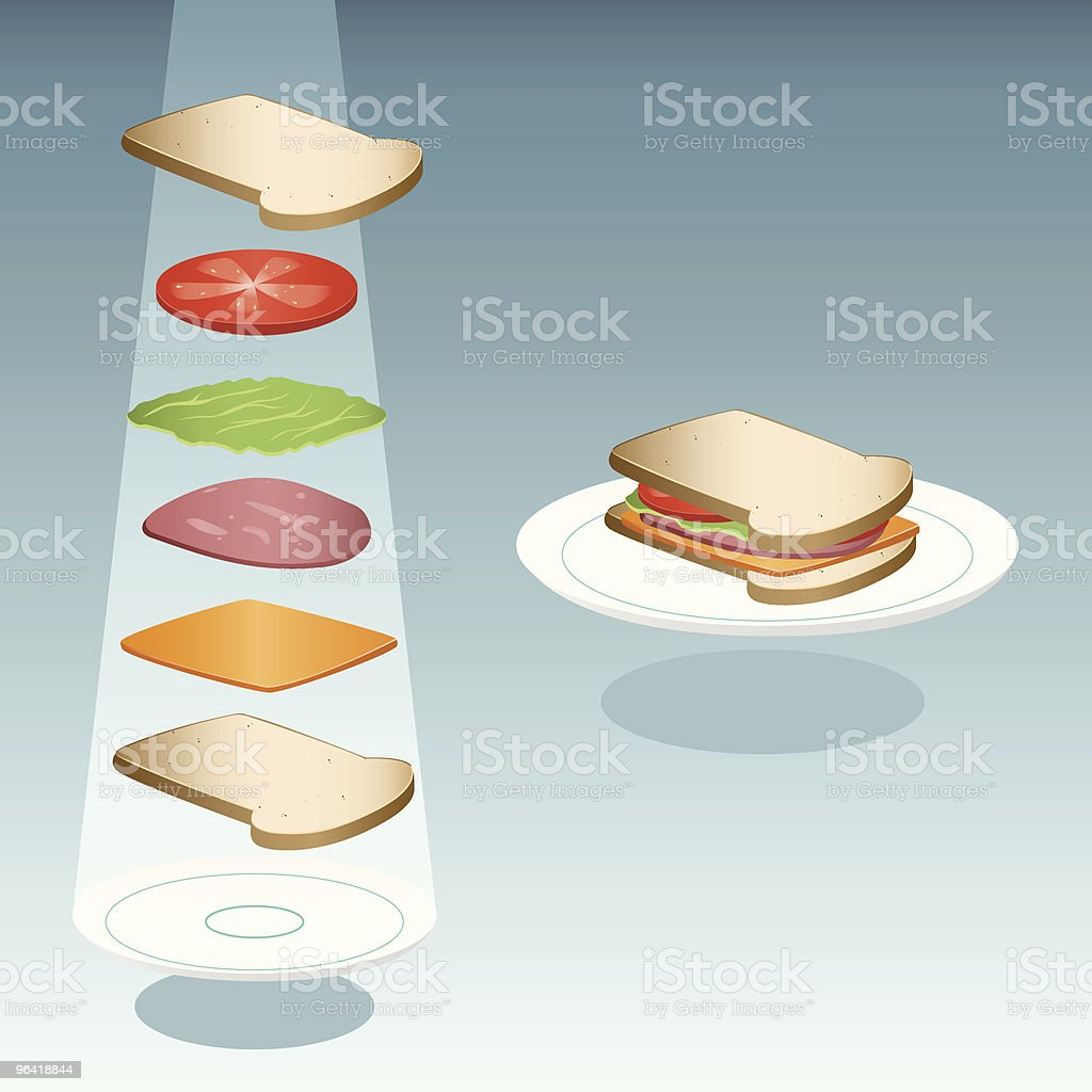 Sandwich royalty-free sandwich stock vector art & more images of bacon lettuce and tomato