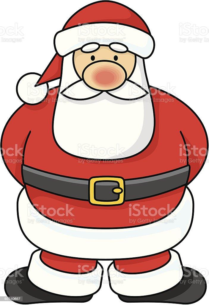 Santa Claus royalty-free santa claus stock illustration - download image now