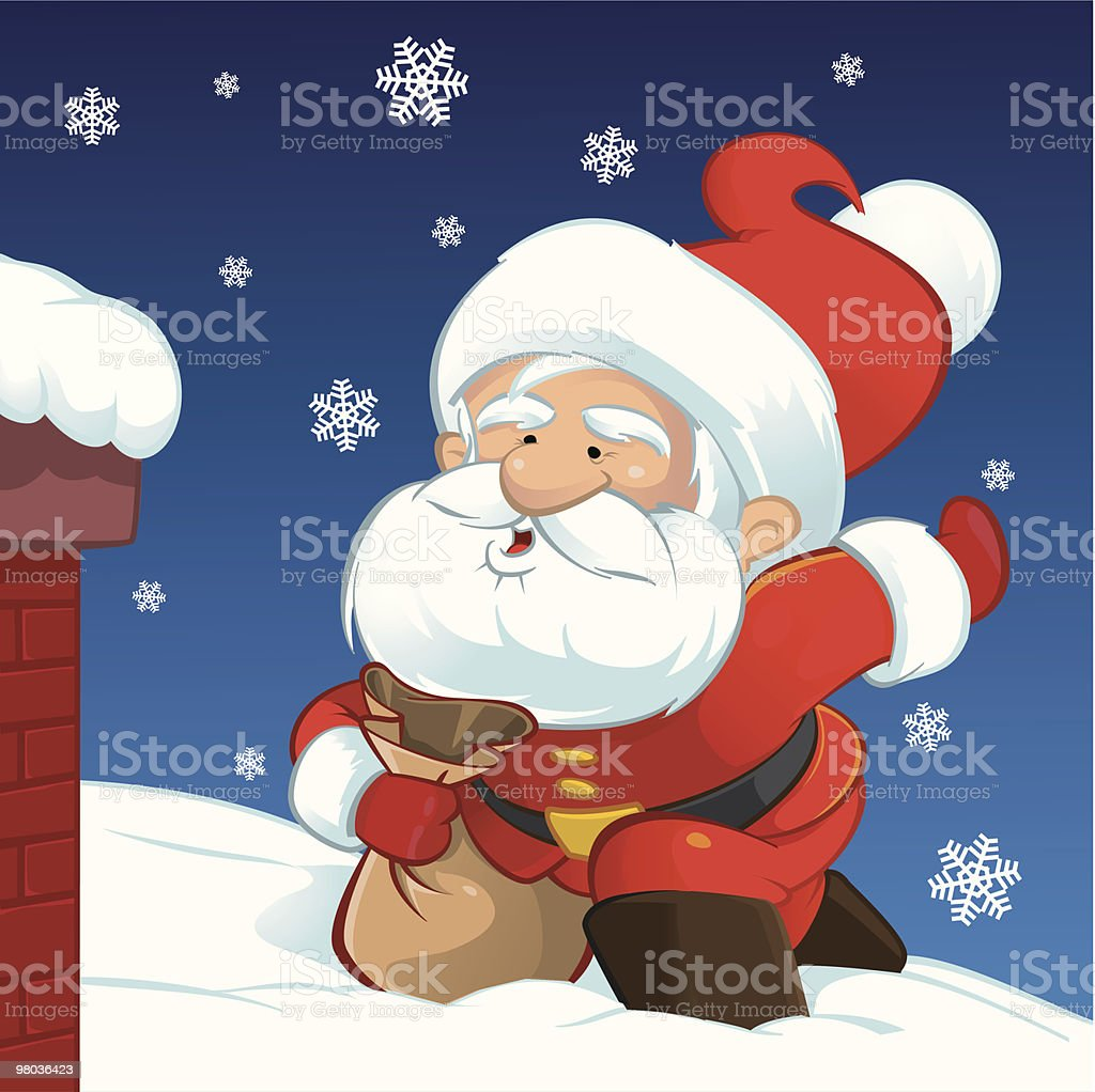 Babbo Natale royalty-free babbo natale stock vector art & more images of adult