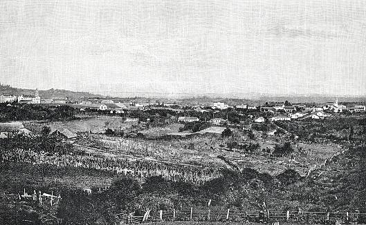 Santa Cruz colony, Brazil