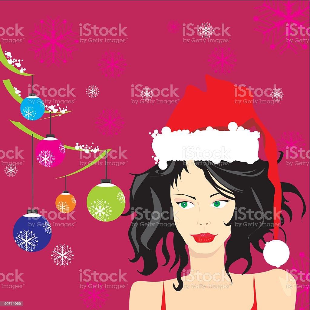 Santa Girl royalty-free santa girl stock vector art & more images of adult