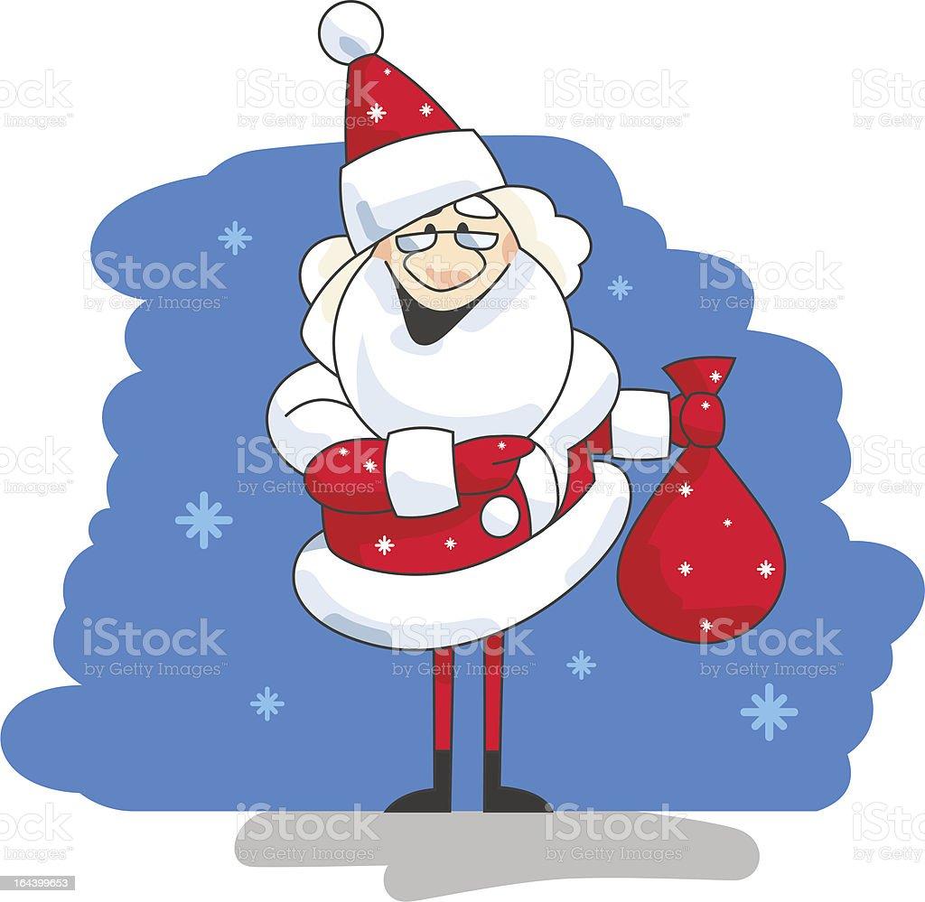Santa royalty-free santa stock vector art & more images of backgrounds