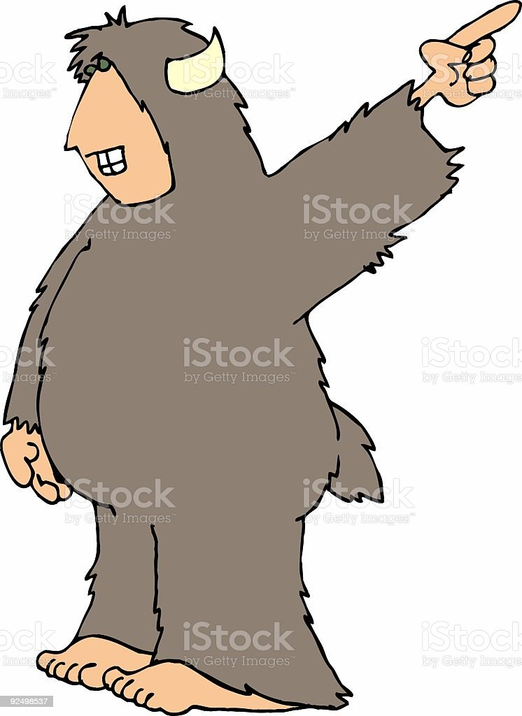 Sasquatch10 royalty-free sasquatch10 stock vector art & more images of adult
