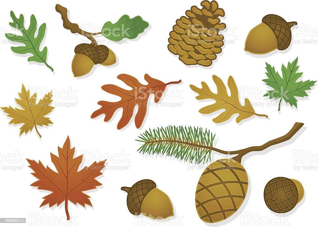 Satin Nature royalty-free stock vector art