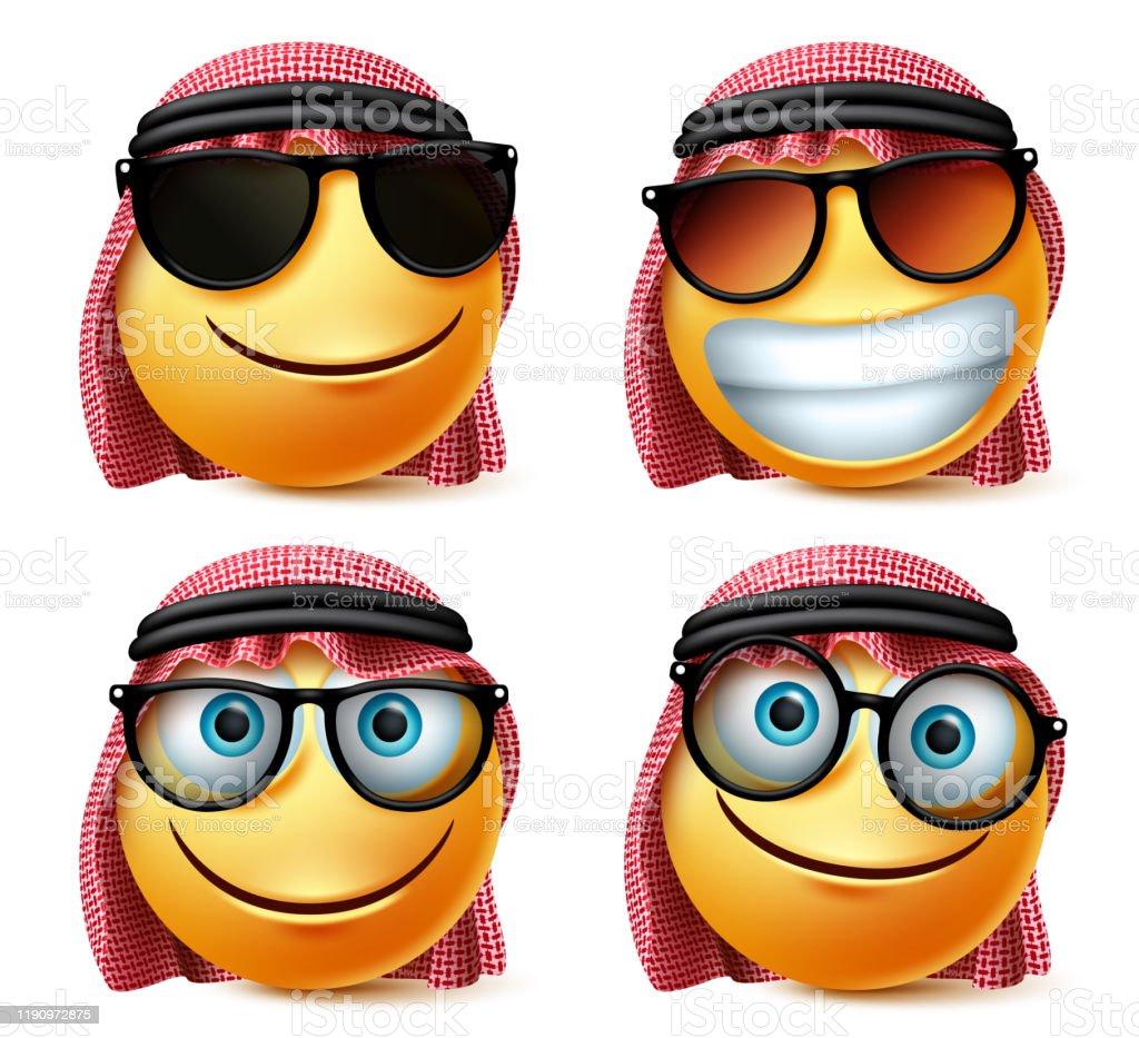 Brille die arabische Arabische Brille: