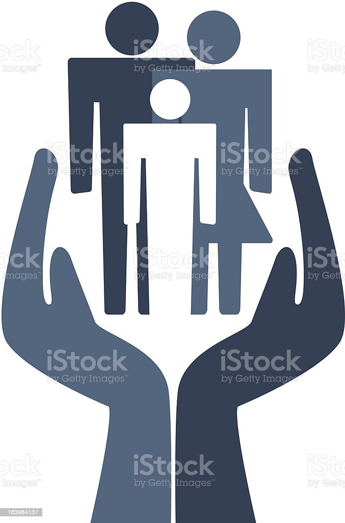 Save Family royalty-free save family stock vector art & more images of adult