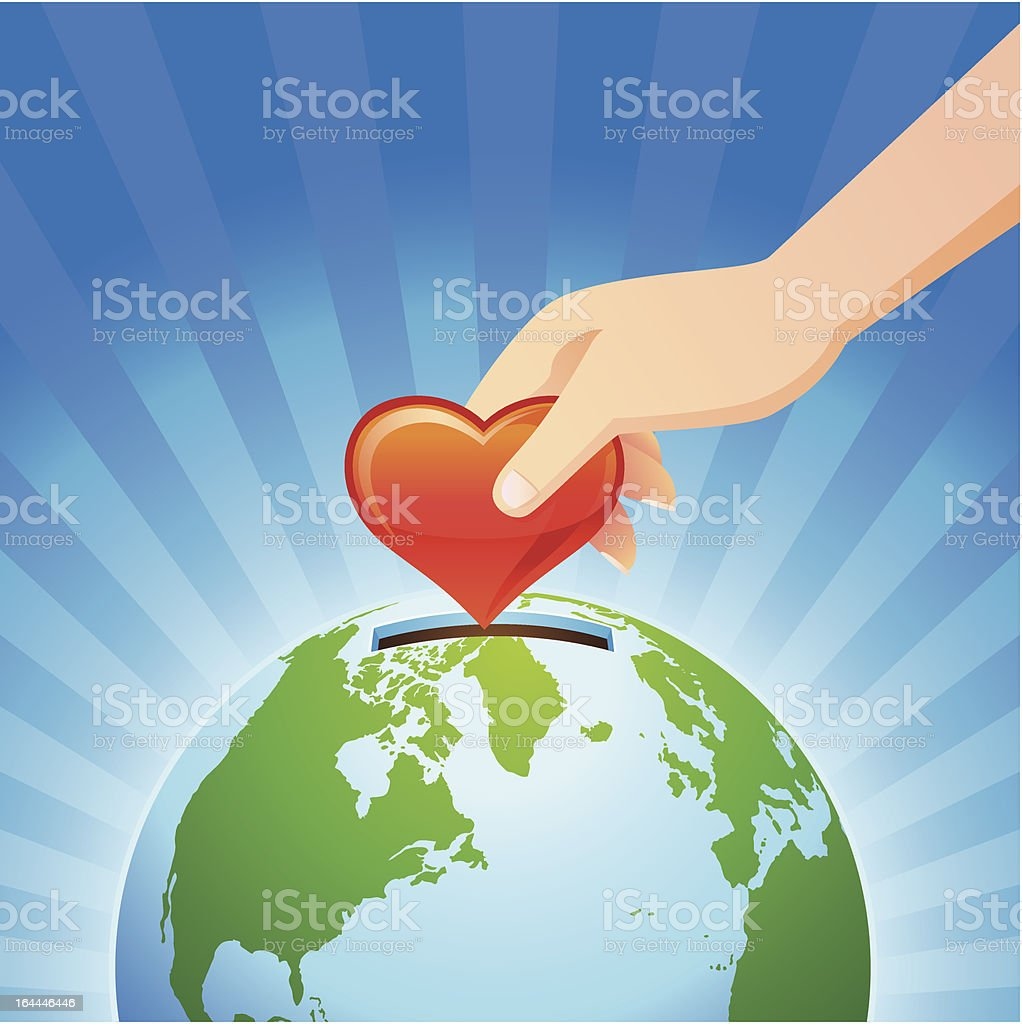 save our earth royalty-free stock vector art
