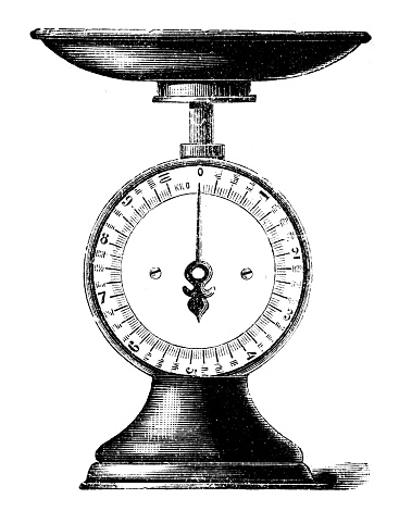 Scales engraving