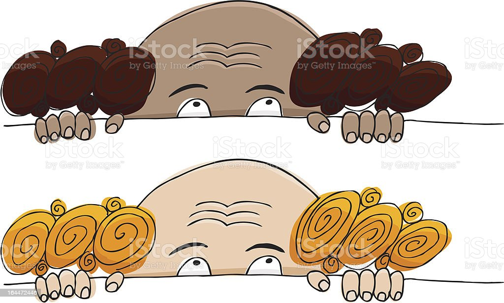 Scared Man royalty-free stock vector art
