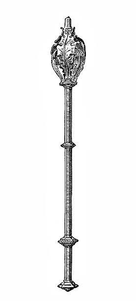 illustrations, cliparts, dessins animés et icônes de sceptre - sceptre