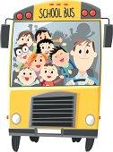 School Bus. Vector