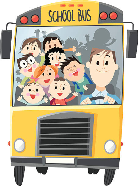 Best School Bus Driver Illustrations, Royalty-Free Vector ...