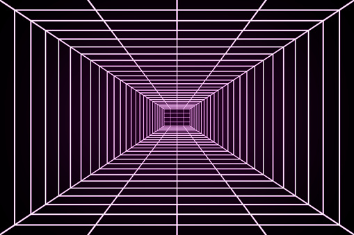 Sci Fi 3D grid from the 80s
