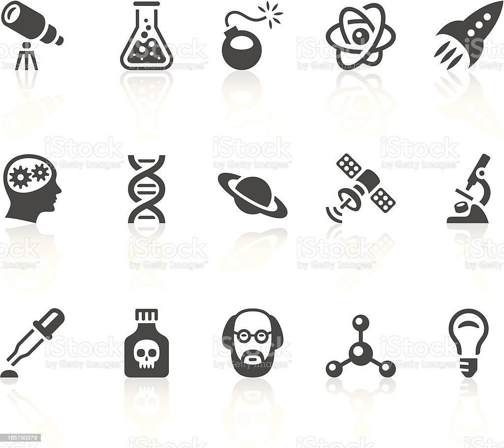 Science icons royalty-free science icons stock vector art & more images of astronomy