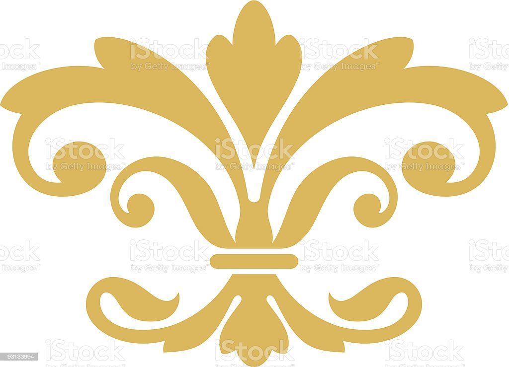 Scroll5-62904 vector art illustration
