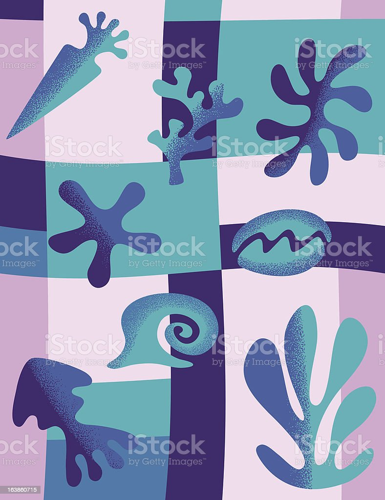 Sea life royalty-free sea life stock vector art & more images of abstract