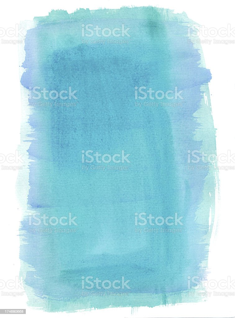 Sea Watercolour Background royalty-free stock vector art