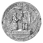istock Seal of the University of Prague ,1384 1279001239